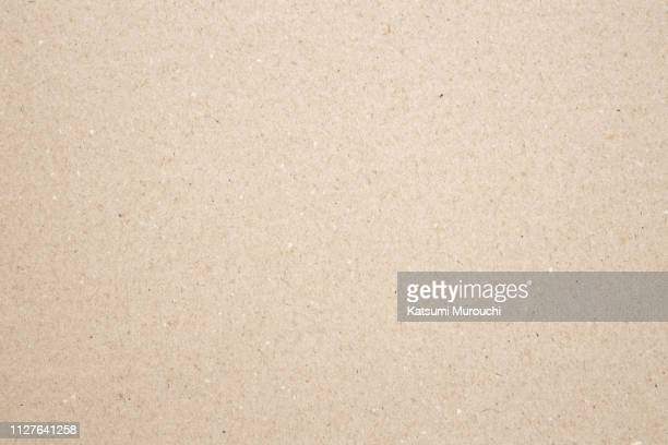 craft paper texture background - beige foto e immagini stock