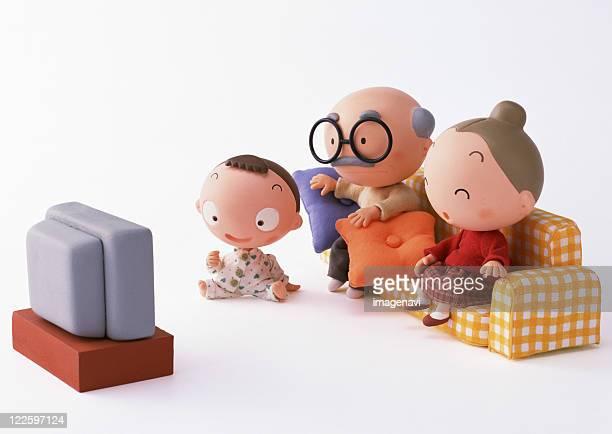 Craft (Grandchild and Grandparents)
