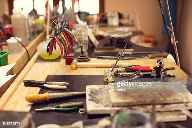 Craft workshop for jewelery making
