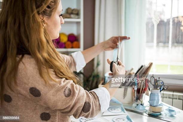 Craftperson at work