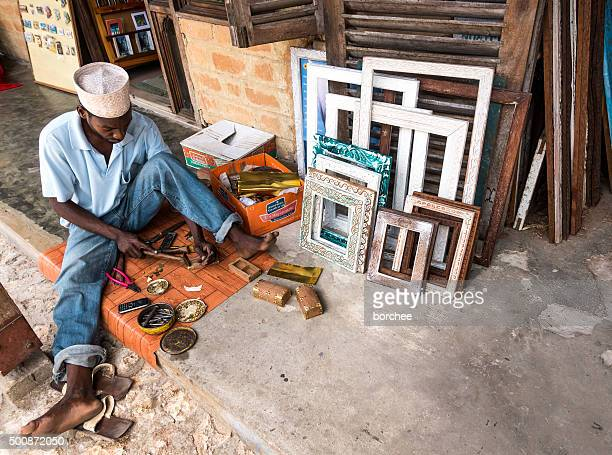 Craftsman In Stone Town