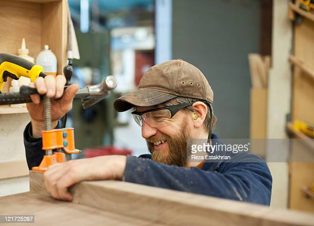 Craftsman sets wood clamp