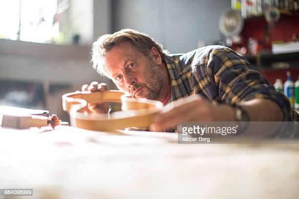 Craftsman working in their workshop