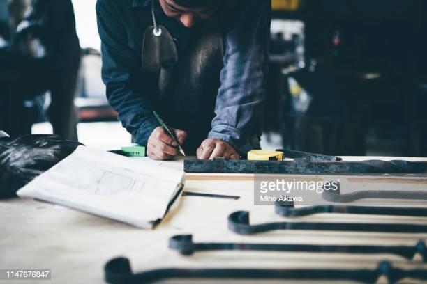 craftsmanship in japan - 職人 ストックフォトと画像