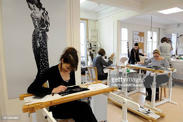 Craftsmen At The Service Of The House Chanel For The 2011 ReadyToWear ParisByzance Collection The Brodeur Lesage