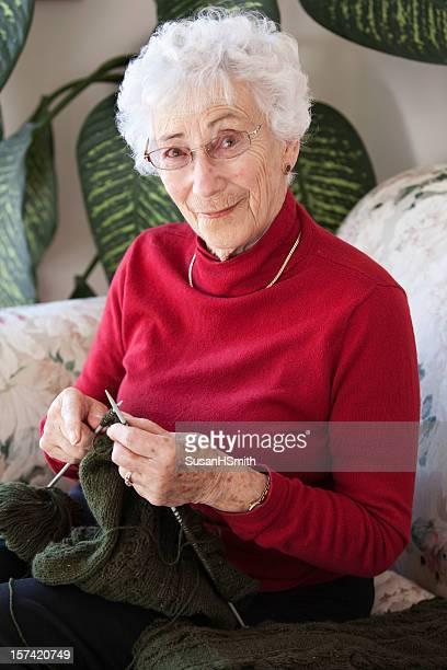 Crafty senior