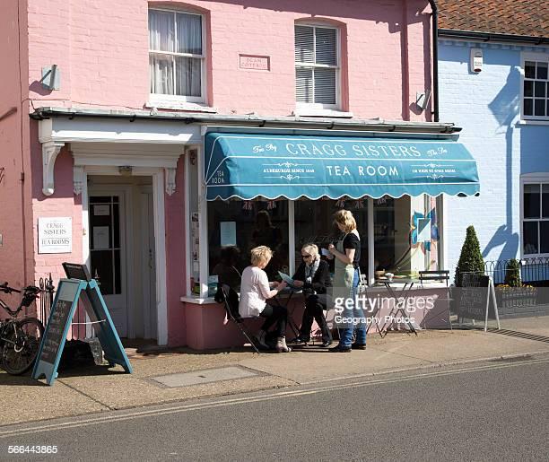 Cragg Sisters tea room Aldeburgh Suffolk England UK