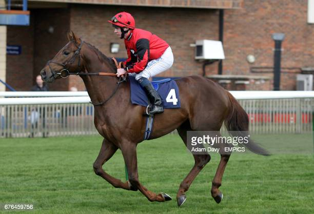 Craicajack ridden by Edward Creighton during the Alex Scott Maiden Stakes