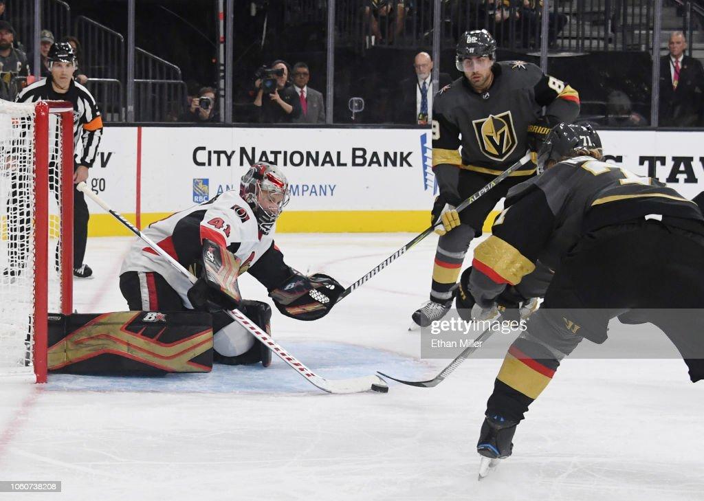 Ottawa Senators v Vegas Golden Knights : News Photo