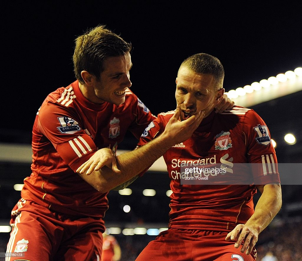 Liverpool v Manchester City - Carling Cup Semi Final Second Leg : News Photo