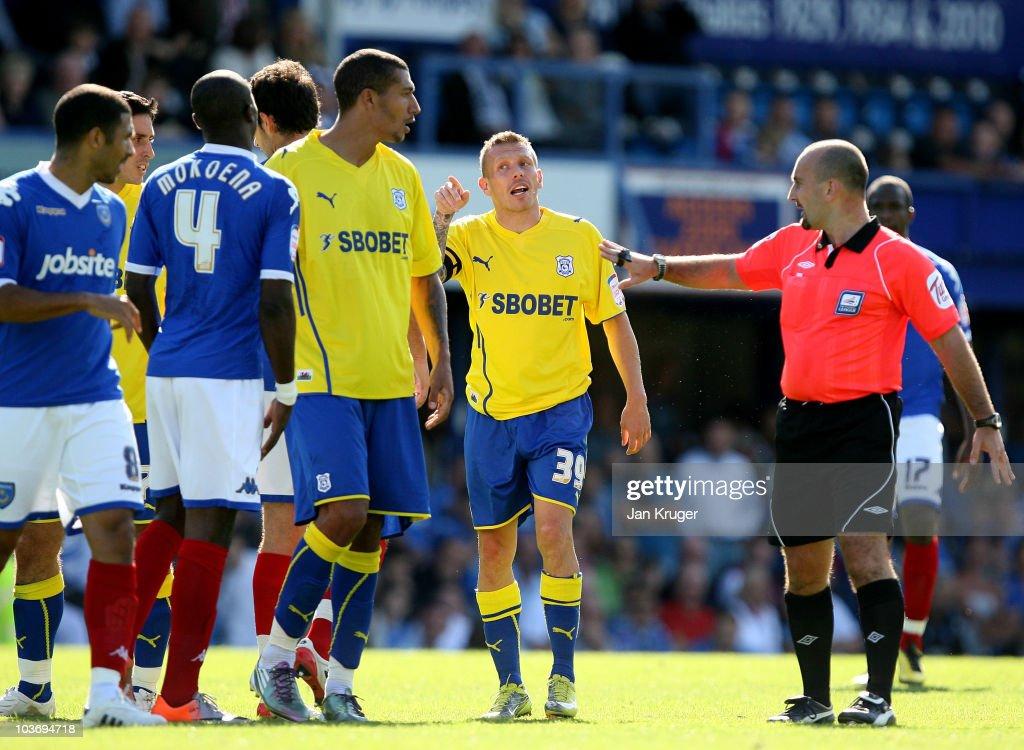 Portsmouth v Cardiff City