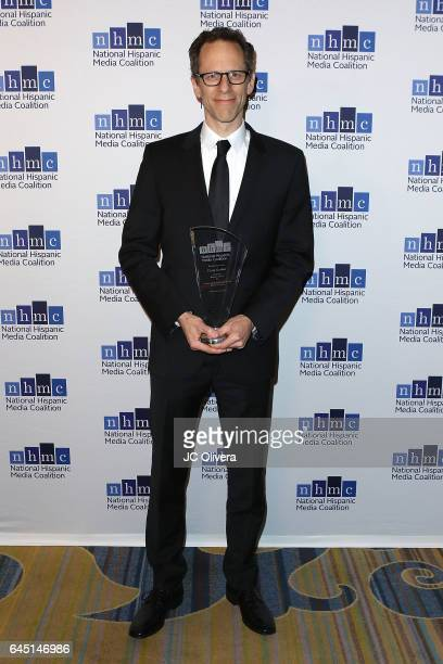Craig Berger wins 'The Outstanding Animated Series Impact Award' for 'Elena of Avalor' during the 20th Annual National Hispanic Media Coalition...