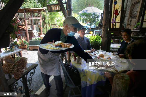 Craig Bero serves brunch to patrons in Housatonic MA on Sept 15 2020 Craig Bero who grew up on a farm in northern Wisconsin and has spent 30 years in...