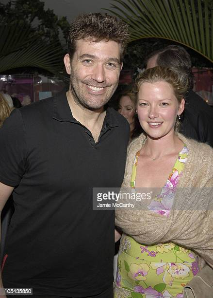 "Craig Bierko and Gretchen Mol during ""The Starter Wife"" A Novel By Gigi Levangie Grazer - Cocktail Party at The Hudson Hotel Apartment in New York..."