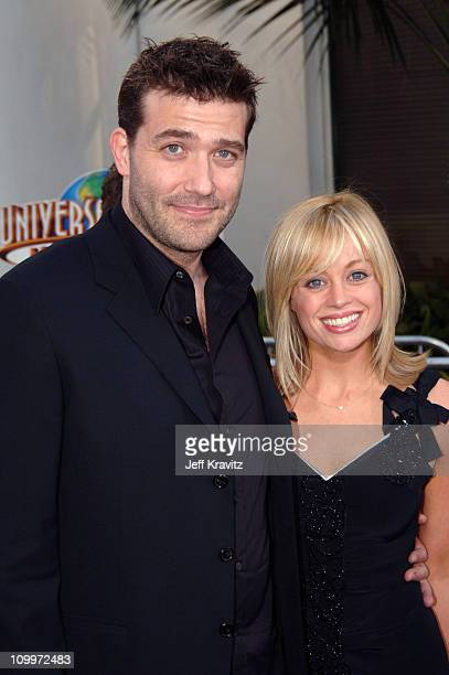 Craig Bierko and Megan Batterson during Cinderella Man Los Angeles Premiere at Gibsob Amphitheater in Universal City California United States
