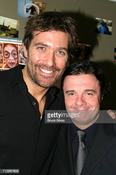 "Craig Bierko and Nathan Lane during ""Great Joy! A Holiday Celebration from Broadway"" A Benefit for The Actors Fund of America at The New Amsterdam..."