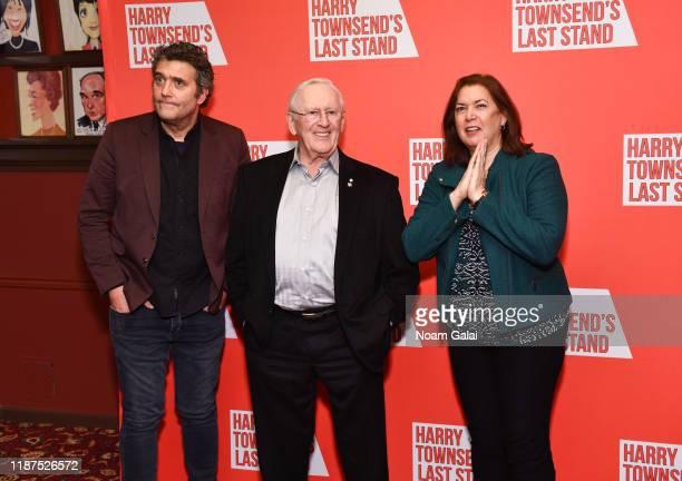 Craig Bierko Len Cariou and Karen Carpenter attend Harry Townsend's Last Stand celebrating Len Cariou and Craig Bierko at Sardis Restaurant on...