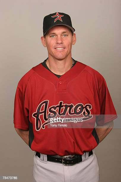 Craig Biggio of the Houston Astros poses during photo day at Osceola County Stadium on February 28 2007 in Kissimmee Florida