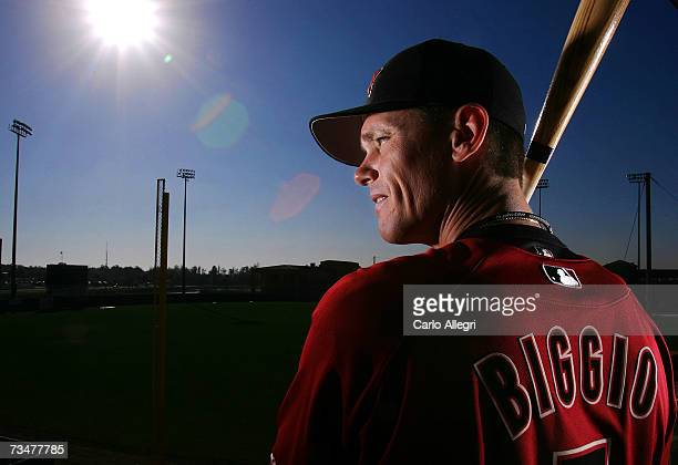 Craig Biggio of the Houston Astros poses for a portrait during the Houston Astros photo day on February 28 2007 at Osceola County Stadium in...