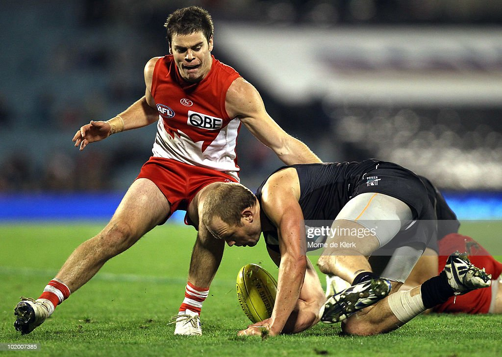 AFL Rd 12 - Power v Swans