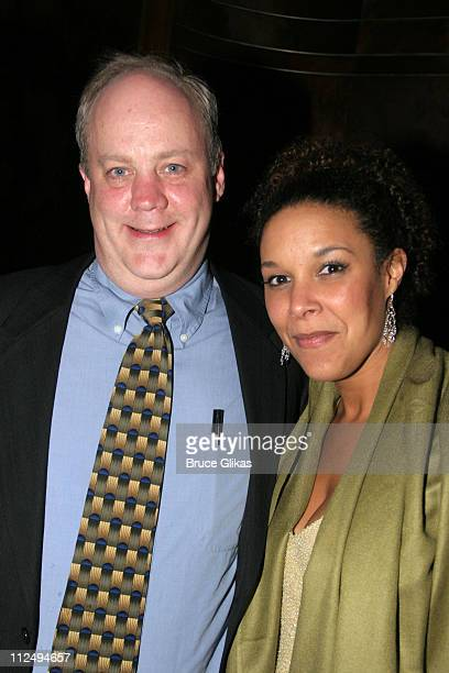 Craig Bockhorn and Linda Powell during On Golden Pond Opening Night on Broadway Curtain Call and After Party at The Cort Theater and Blue Fin in New...