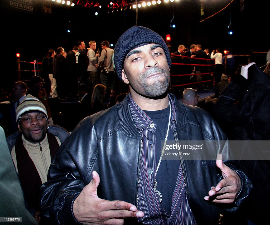 Craig Boogie and DJ Clue during Celebrities Attend the Zab Judah vs Carlos Baldomir Boxing Match - January 7, 2006 at Madison Square Garden in New York, New York, United States.