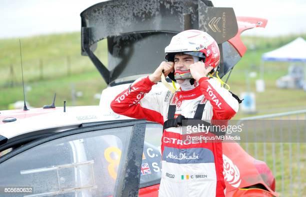 Craig Breen IRL Citroen Total Abu Dhabi WRT during the WRC Orlen 74 Rally Poland on June 30 2017 in Mikolajki Poland