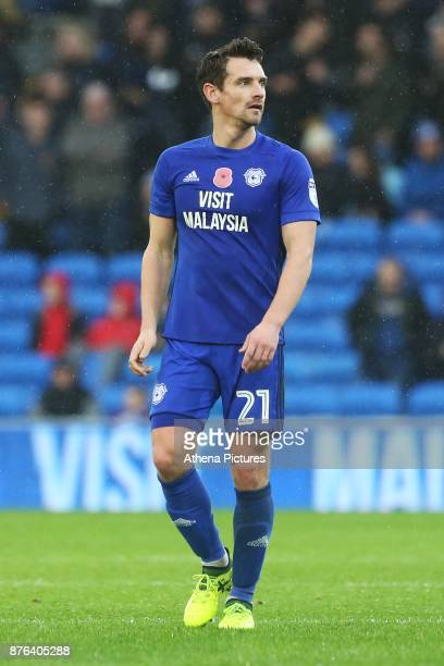 Craig Bryson of Cardiff City during the Sky Bet Championship match between Cardiff City and Brentford at the Cardiff City Stadium on November 18 2017...