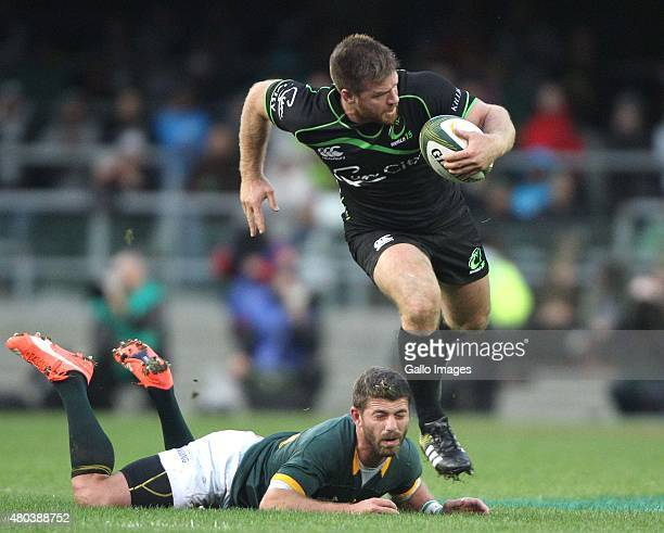 Craig Burden of the World XV during the match between South Africa and World VX at DHL Newlands Stadium on July 11 2015 in Cape Town South Africa