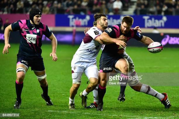 Craig BURDEN / Sofiane GUITOUNE Stade Francais / Bordeaux Begles 10eme journee de Top 14 Photo Dave Winter / Icon Sport