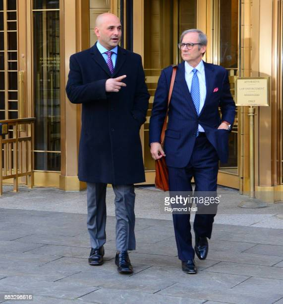 Craig Carton is seen leaving United States Court House on November 30 2017 in New York City