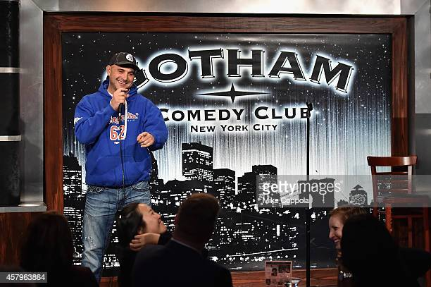 Craig Carton performs onstage at the 2014 Laugh For Sight Benefit at Gotham Comedy Club on October 27 2014 in New York City