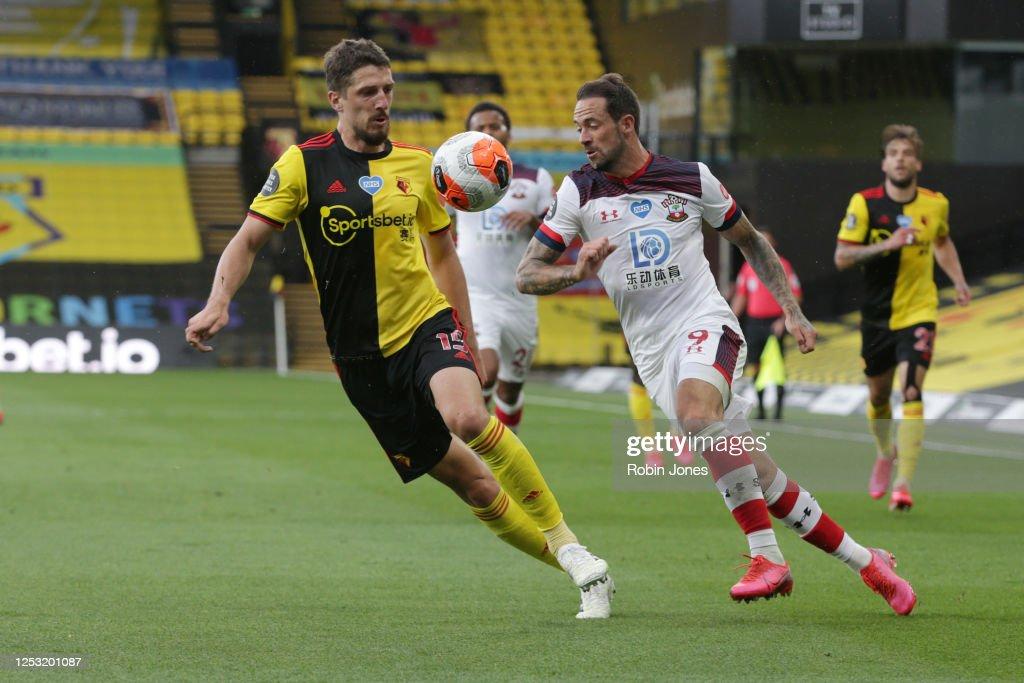 Watford FC v Southampton FC - Premier League : News Photo