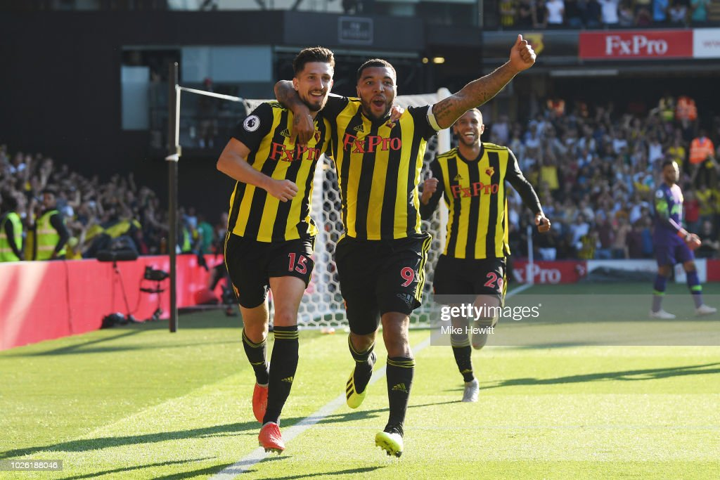 Watford FC v Tottenham Hotspur - Premier League : News Photo