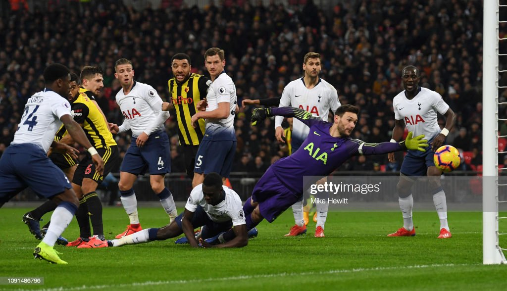 Tottenham Hotspur v Watford FC - Premier League : News Photo