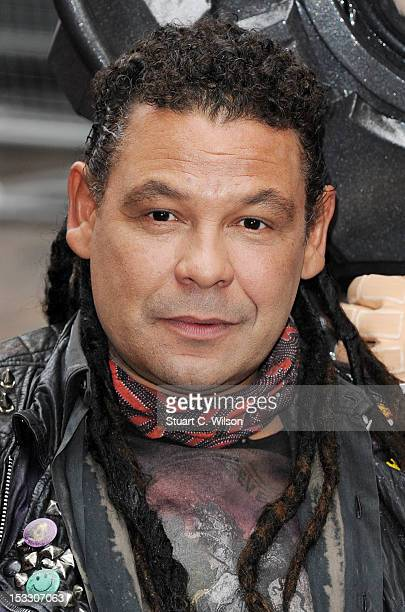 Craig Charles as Dave Lister attends a photocall for the return of Red Dwarf with a new sixpart series 'Red Dwarf X' on October 3 2012 in London...