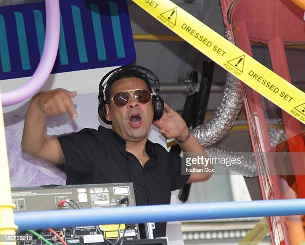 Craig Charles DJs at Manchester Pride 2012 on August 24 2012 in Manchester England