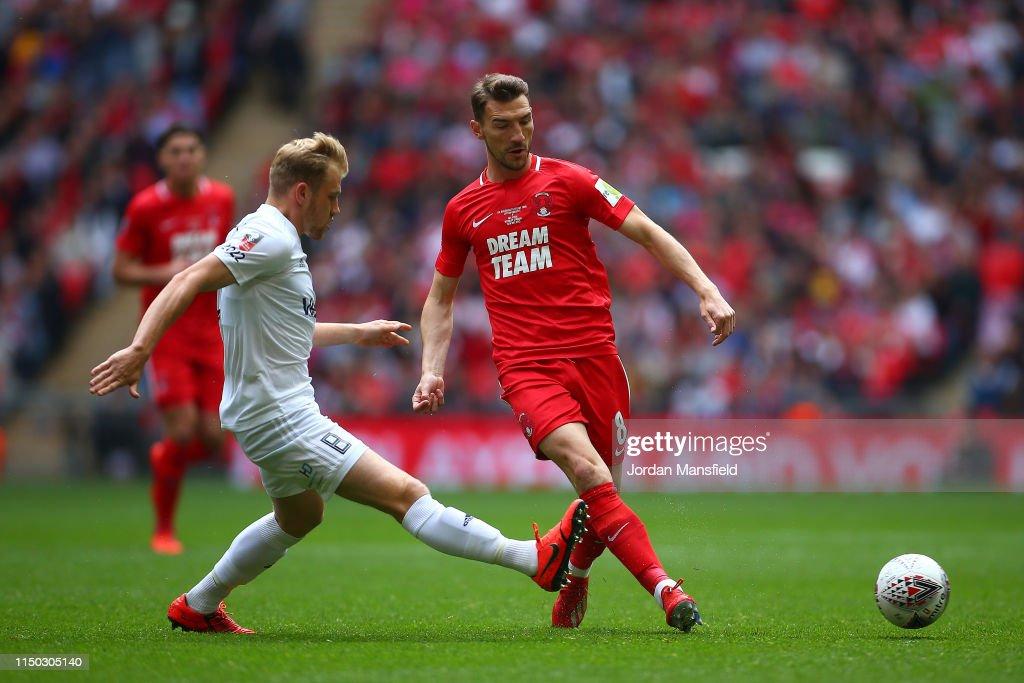 GBR: Leyton Orient v AFC Fylde - FA Trophy Final