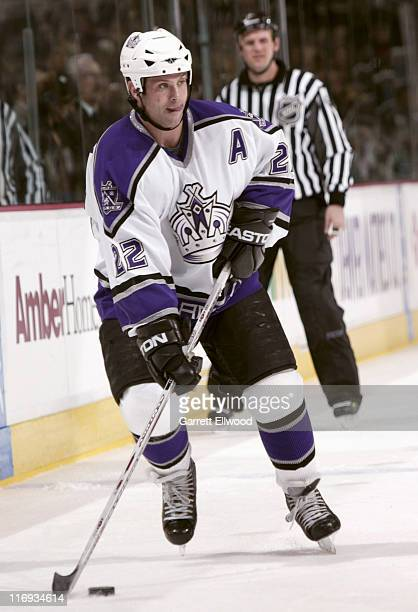 Craig Conroy of the Los Angeles Kings during the game against the Colorado Avalanche on December 28, 2005 at Pepsi Center in Denver, Colorado.