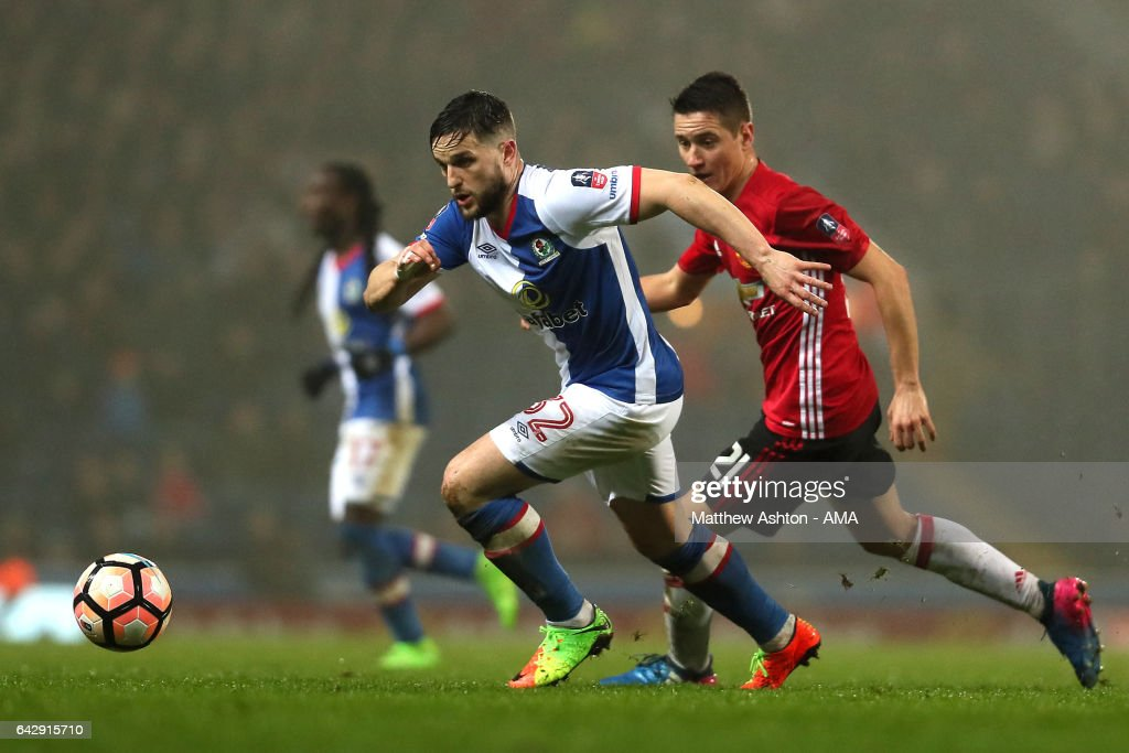 Blackburn Rovers v Manchester United - The Emirates FA Cup Fifth Round : ニュース写真