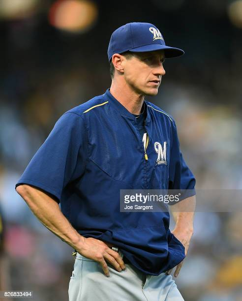 Milwaukee Brewers V Pittsburgh Pirates: Craig Counsell Stock Photos And Pictures