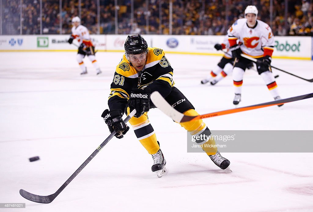 Calgary Flames v Boston Bruins : News Photo