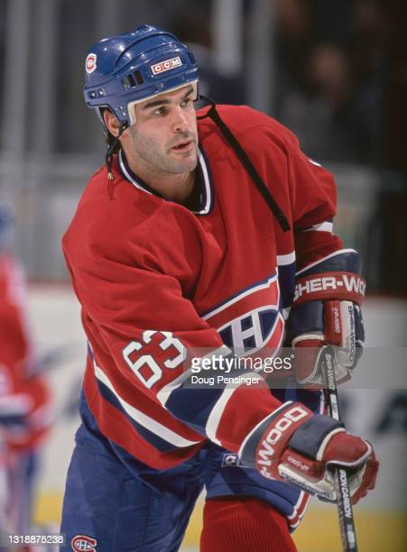 Craig Darby, Center for the Montreal Canadiens during the NHL Eastern Conference Southeast Division game against the Washington Capitals on 17th...
