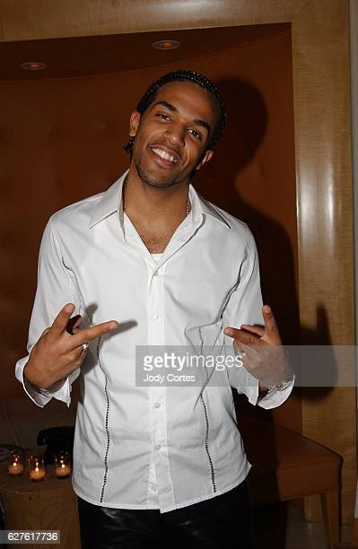 Craig David arrives at the Warner Music Group and Entertainment Weekly postGrammy party