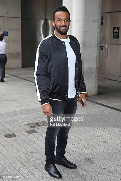 Craig David at BBC Radio One on September 9 2016 in London England
