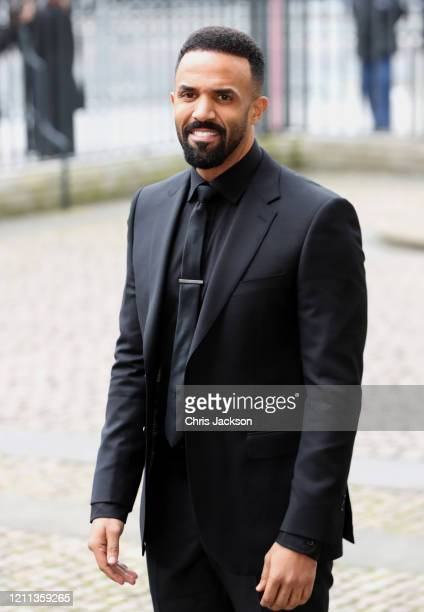 Craig David attends the Commonwealth Day Service 2020 at Westminster Abbey on March 09 2020 in London England The Commonwealth represents 24 billion...