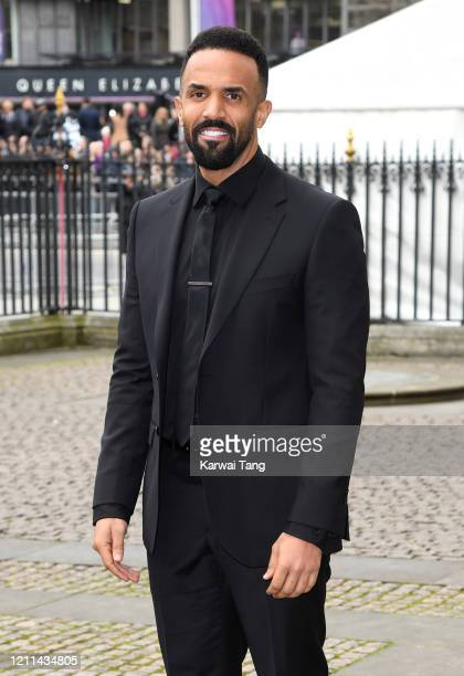 Craig David attends the Commonwealth Day Service 2020 at Westminster Abbey on March 09 2020 in London England
