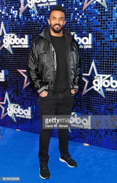 Craig David attends The Global Awards 2018 at Eventim Apollo Hammersmith on March 1 2018 in London England