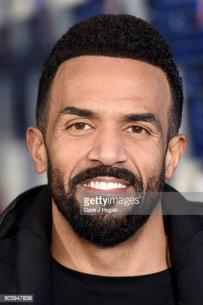 Craig David attends The Global Awards a brand new awards show hosted by Global the Media Entertainment Group at Eventim Apollo Hammersmith on March 1...