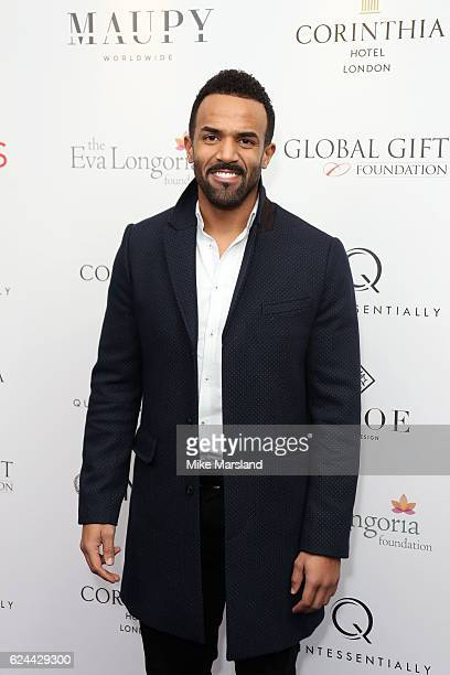 Craig David attends the Global Gift Gala London on November 19 2016 in London United Kingdom